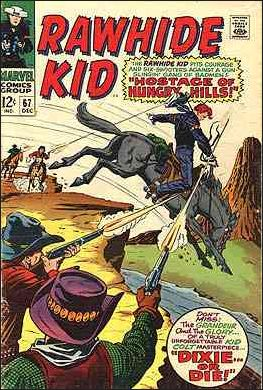 Rawhide Kid (1955) 67-A by Marvel