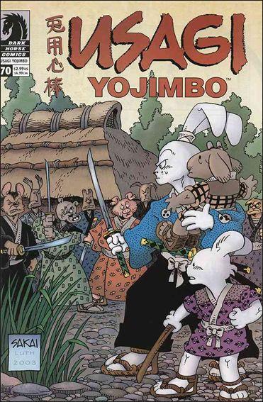 Usagi Yojimbo (1996) 70-A by Dark Horse