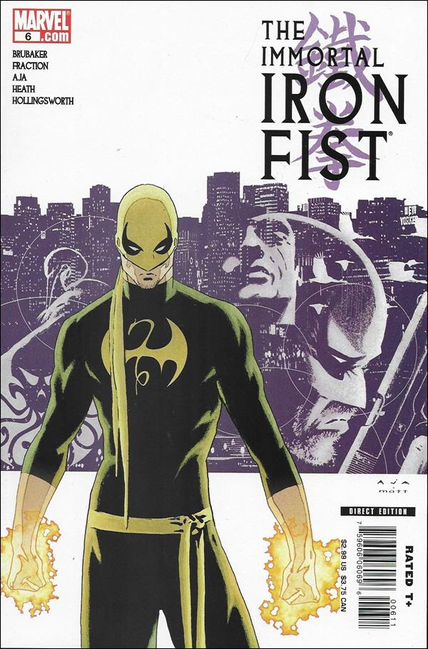 Immortal Iron Fist 6-A by Marvel