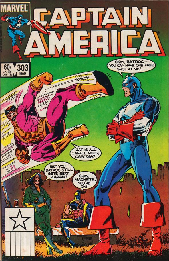 Captain America (1968) 303-A by Marvel