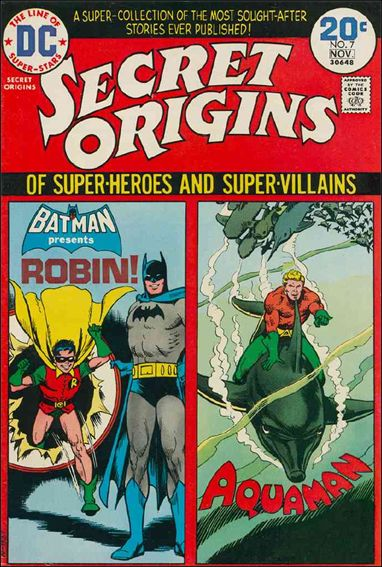 Secret Origins (1973) 7-A by DC