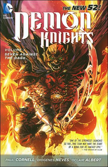 Demon Knights 1-A by DC