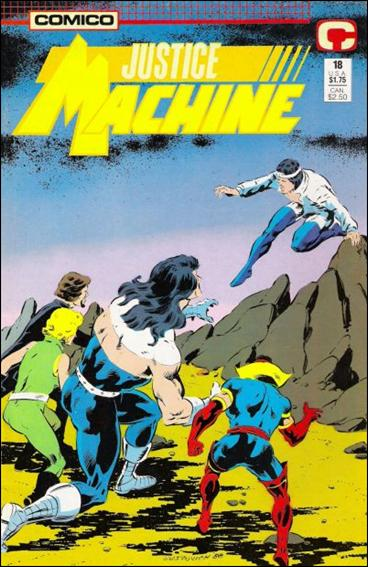 Justice Machine (1987) 18-A by Comico