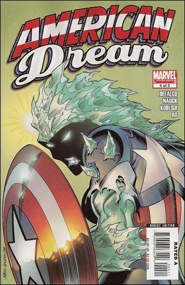 American Dream 4-A by Marvel