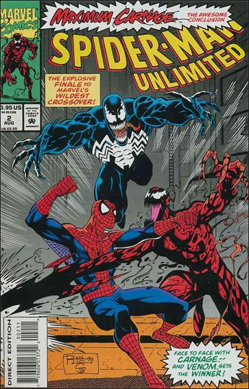Spider-Man Unlimited (1993) 2-A by Marvel