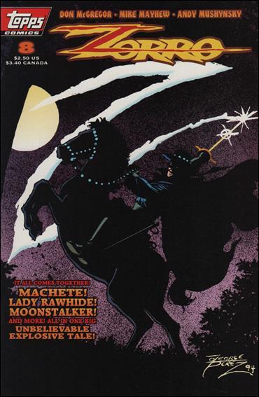 Zorro (1993) 8-A by Topps