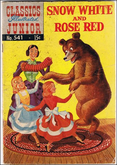 Classics Illustrated Junior 541-C by Famous Authors, Ltd.