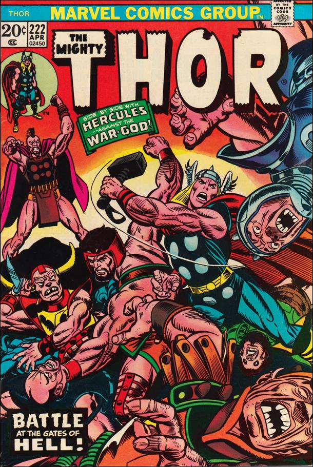 Thor (1966) 222-A by Marvel