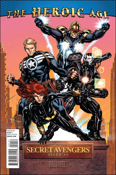 Secret Avengers (2010) 1-B by Marvel