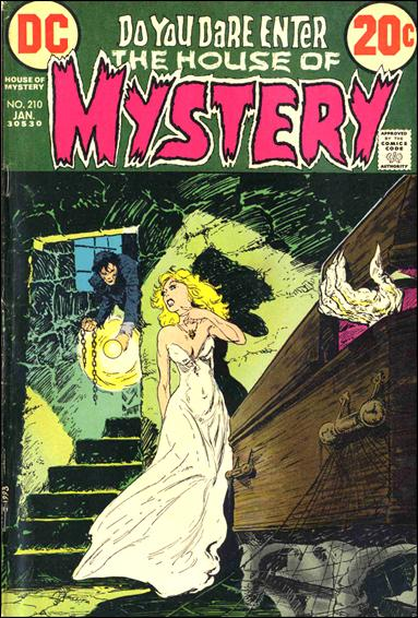 House of Mystery (1951) 210-A by DC