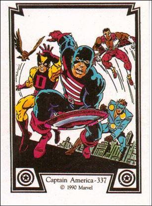 Captain America (Base Set) 44-A