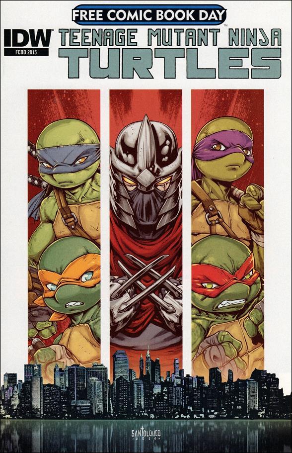 Teenage Mutant Ninja Turtles FCBD nn-A by IDW