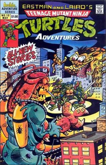 Teenage Mutant Ninja Turtles Adventures (1989) 10-A by Archie