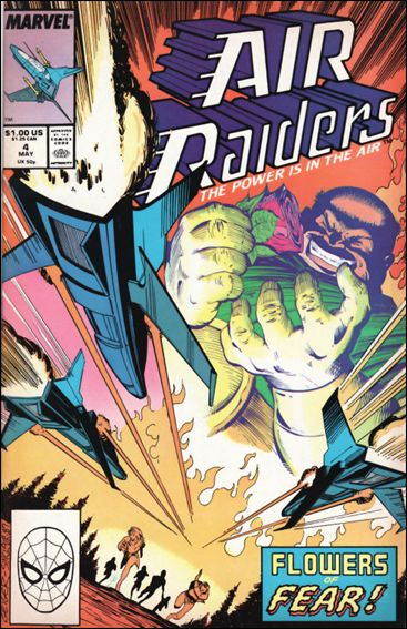 Air Raiders 4-A by Marvel