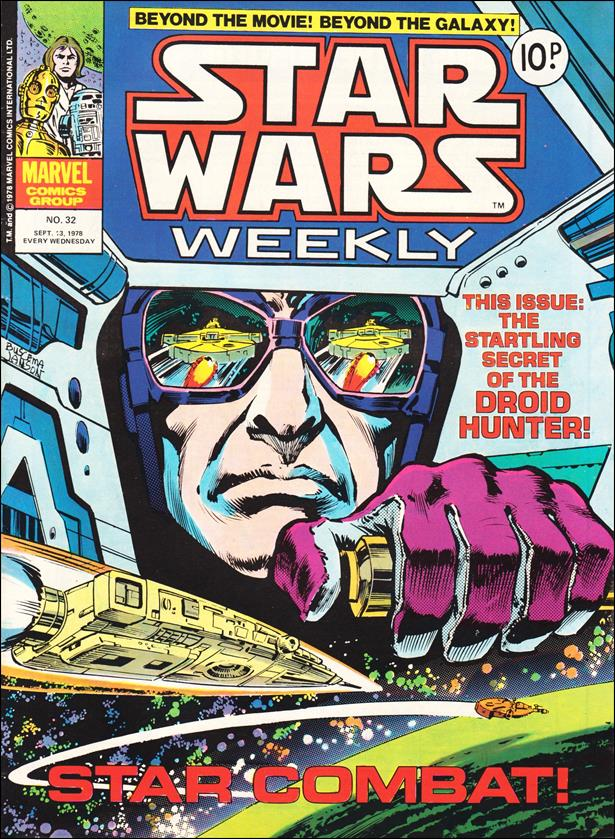 Star Wars Weekly (UK) 32-A by Marvel UK