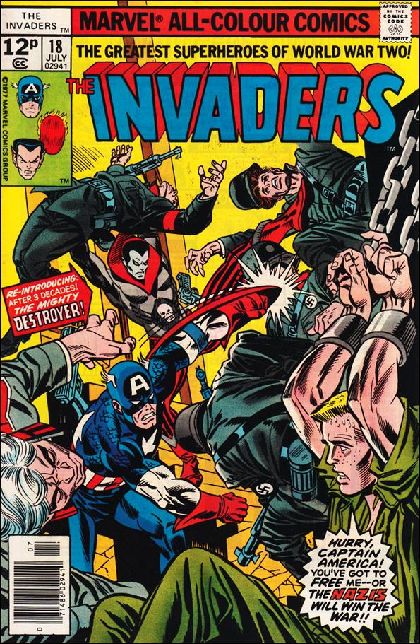 Invaders (1975) 18-C by Marvel