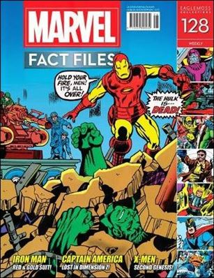 Marvel Fact Files 128-A