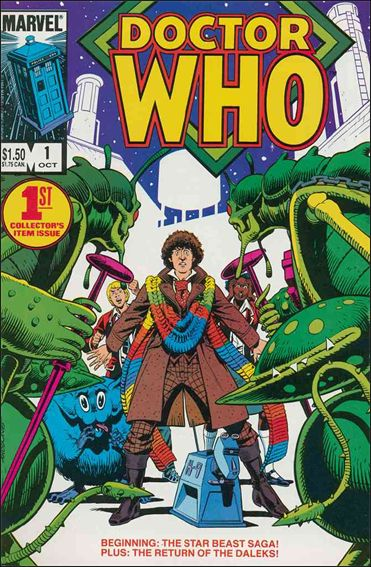 Doctor Who (1984) 1-A by Marvel