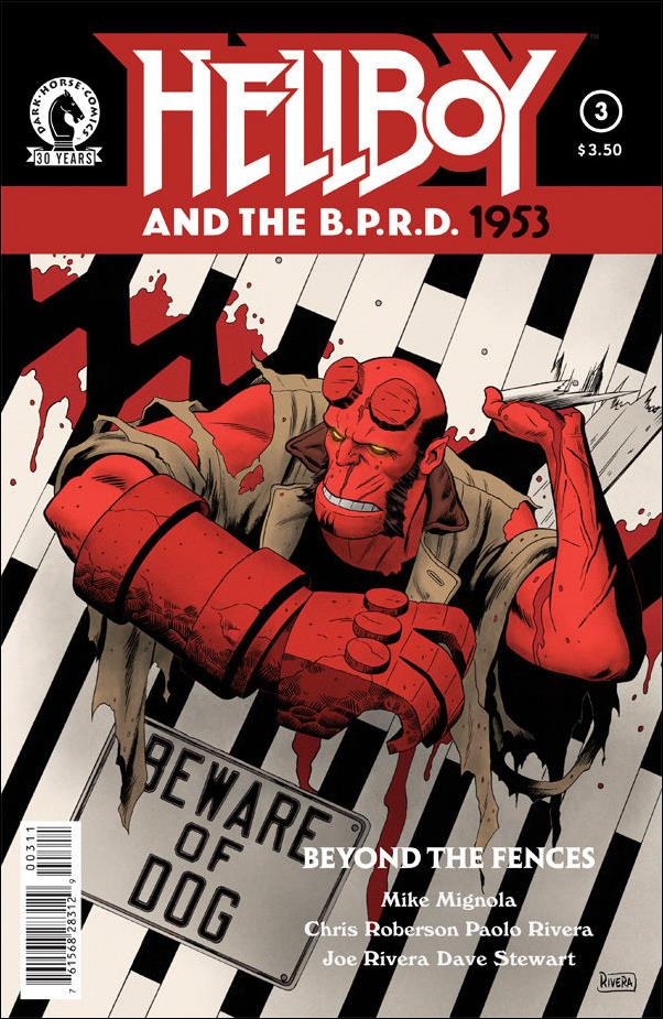 Hellboy and the B.P.R.D.: 1953 - Beyond the Fences 3-A
