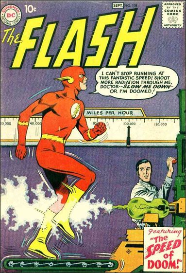 Flash (1959) 108-A by DC