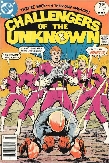 Challengers of the Unknown (1958) 81-A by DC