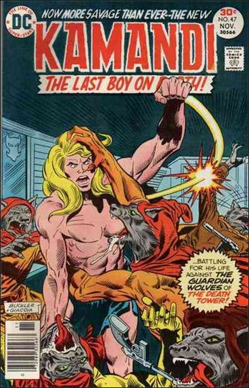 Kamandi, the Last Boy on Earth 47-A by DC
