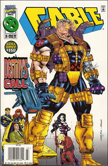 Cable (1993) 29-B by Marvel