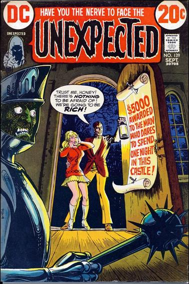 Unexpected (1968) 139-A by DC