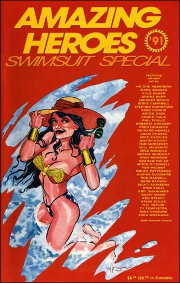 Amazing Heroes Swimsuit Special 1991-A by Fantagraphics