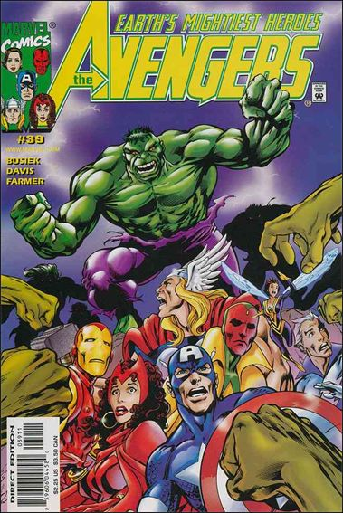 Avengers (1998) 39-A by Marvel