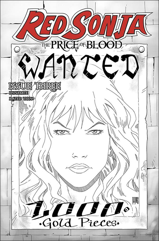Red Sonja: Price of Blood 3-H by Dynamite Entertainment