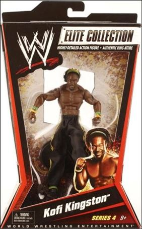WWE: Elite Collection (Series 04) Kofi Kingston