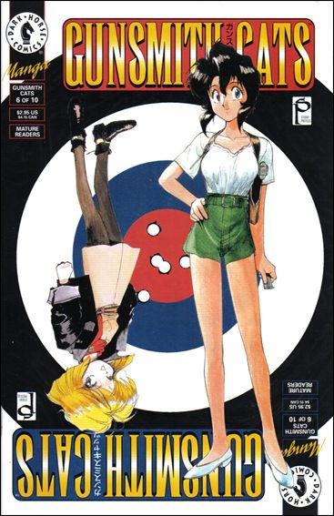 Gunsmith Cats 6-A by Dark Horse