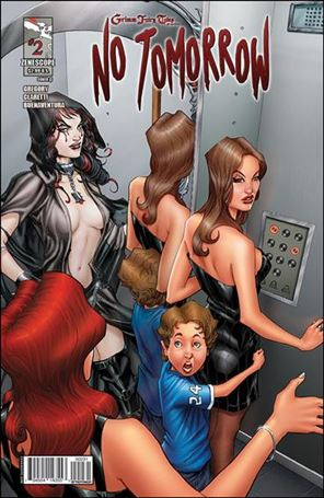 Grimm Fairy Tales Presents No Tomorrow 2-C