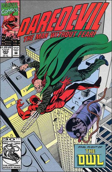 Daredevil (1964) 303-A by Marvel
