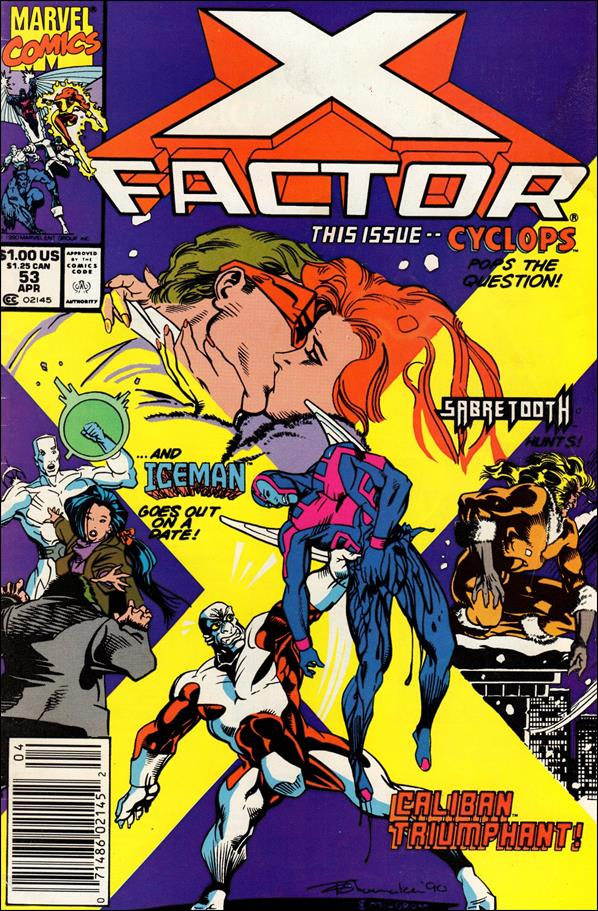 X-Factor (1986) 53-A by Marvel