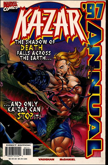 Ka-Zar Annual '97-A by Marvel