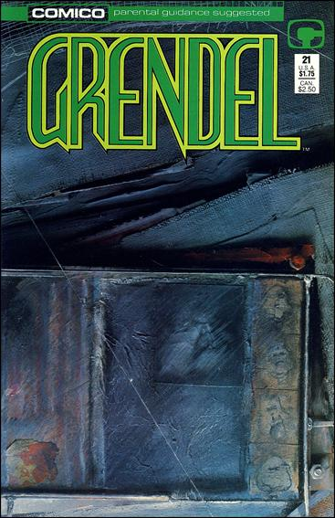 Grendel (1986) 21-A by Comico