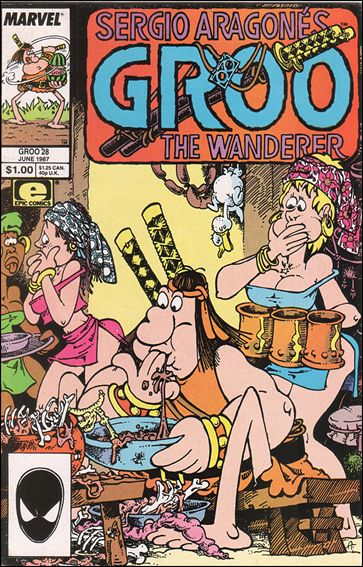 Sergio Aragones Groo the Wanderer 28-A by Epic