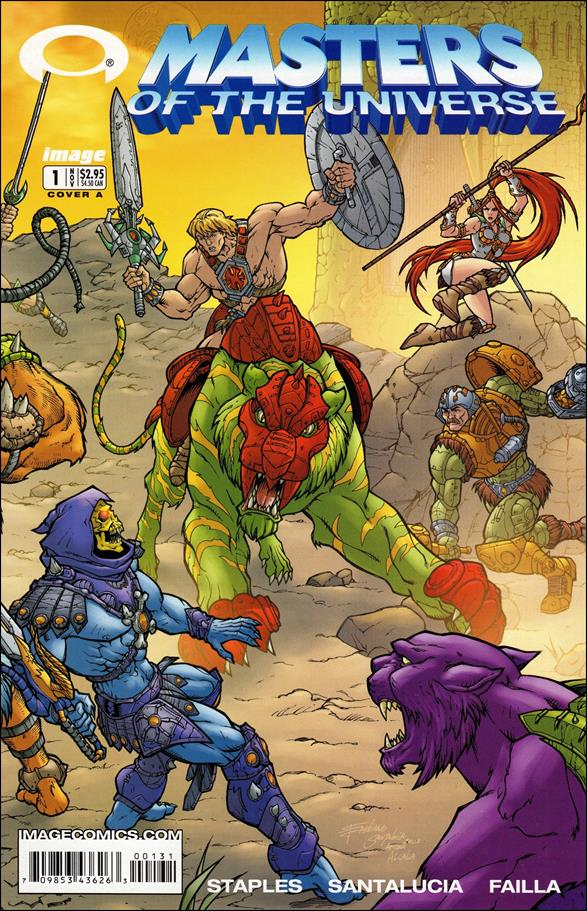 Masters of the Universe (2002) 1-A by Image