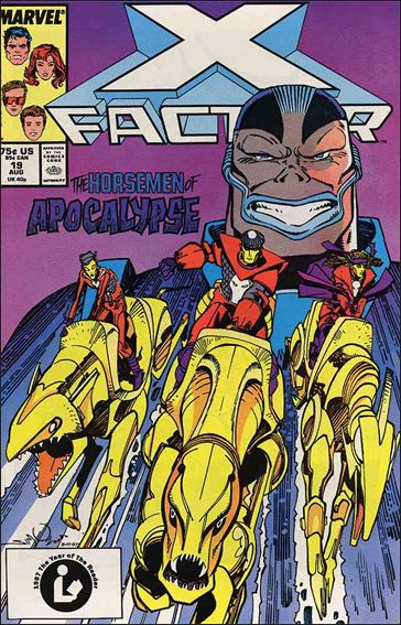 X-Factor (1986) 19-A by Marvel
