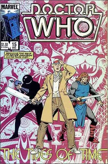Doctor Who (1984) 15-A by Marvel