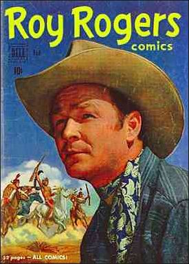 Roy Rogers Comics 38-A by Dell