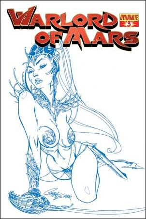Warlord of Mars 3-F by Dynamite Entertainment