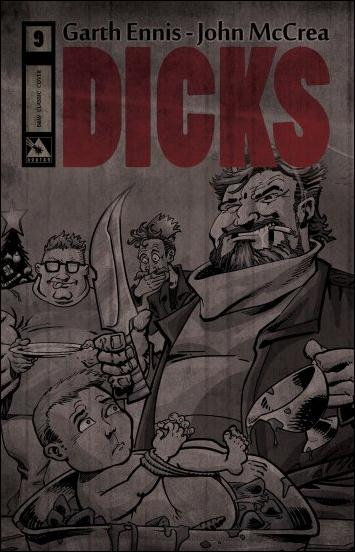 Dicks (2012) 9-C by Avatar Press