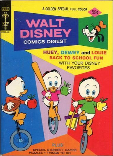 Walt Disney Comics Digest 49-A by Gold Key