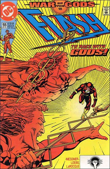 Flash (1987) 55-A by DC