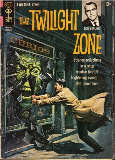 Twilight Zone (1962) 10-A by Gold Key