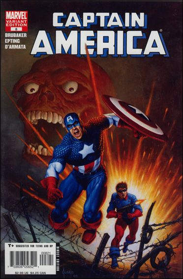 Captain America (2005) 8-B by Marvel