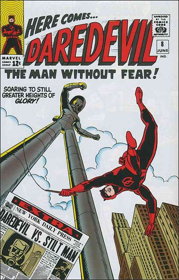 Daredevil (1964) 8-A by Marvel